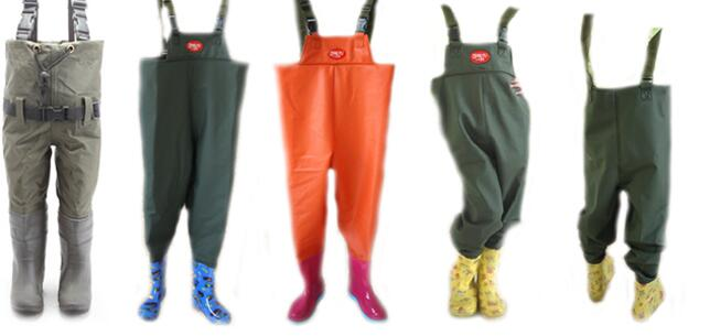 Kids fishing waders made by eco pvc nylon neoprene for Kids fishing waders